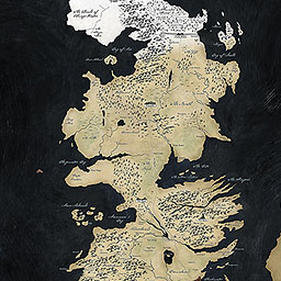 Westeros Karte Interaktiv.Game Of Thrones Arya S Journey Storymapjs Northwestern